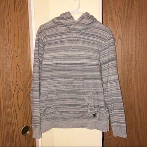 PrAna | Gray Striped Sweatshirt | Read Description